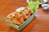 Fried prawn — Stock Photo