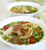 Vietnamese style food — Stock Photo