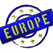 Europe - Stamp — Stock Photo