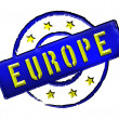 Stock Photo: Europe - Stamp