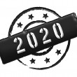 2020 - Stamp — Stock Photo