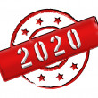 2020 - Stamp — Stock Photo #10143710