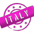 Stock Photo: Italy - Stamp