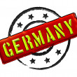 Germany - Stamp - Stock Photo