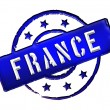 France - Stamp — Stock Photo