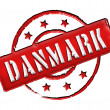 Stock Photo: Danmark Denmark - Stamp