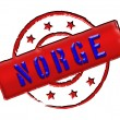 Stock Photo: Norway Norge - Stamp