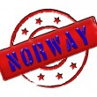 Stock Photo: Norway / Norge - Stamp