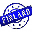 Finland - Stamp — Stock Photo