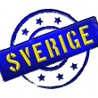 Royalty-Free Stock Photo: Sweden - Stamp