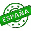 Stock Photo: Spain - Stamp