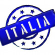 Stock Photo: Itali- Stamp