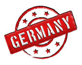 Germany - Stamp — Stock Photo