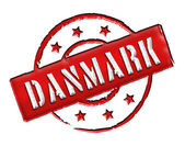 Danmark Denmark - Stamp — Stock Photo