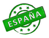 Spain - Stamp — Stock Photo