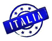 Italia - Stamp — Stock Photo