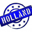 Stock Photo: Holland - Stamp