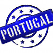 Portugal - Stamp - Stock Photo