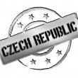 Stock Photo: Czech Republic - Stamp