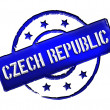 Czech Republic - Stamp — Stock Photo