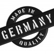 Made in Germany — 图库照片