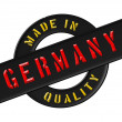 Made in Germany - Stock Photo