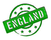 England - Stamp — Stock Photo