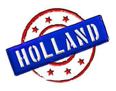 Holland - Stamp — Stock Photo