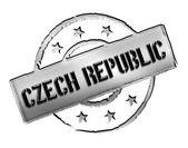 Czech Republic - Stamp — Stock Photo
