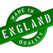 Made in England — Stock Photo