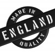Made in England - Stock Photo