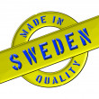 Royalty-Free Stock Photo: Made in Sweden