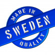 Made in Sweden — 图库照片