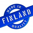 Made in Finland — Foto Stock