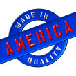Made in America - Stock Photo