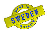 Made in Sweden — Stock Photo