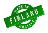 Made in Finland — Stock Photo