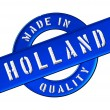 Made in Holland — Stockfoto
