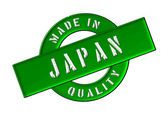 Made in Japan — Stock Photo