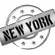 Stamp - NEW YORK - Stock Photo