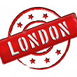 Stamp - LONDON - Stock Photo