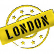 Stamp - LONDON — Stock Photo