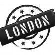 Stock Photo: Stamp - LONDON