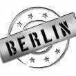 Stamp - BERLIN - Stock Photo