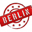 Stamp - BERLIN — Stock Photo