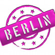 Stamp - BERLIN — Stock Photo #10357312