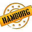 Stamp - HAMBURG — Stock Photo