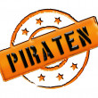 Royalty-Free Stock Photo: Stamp - Piraten