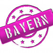Stock Photo: Stamp - Bayern