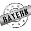 Stamp - Bayern — Stock Photo